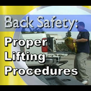 Back Safety: Proper Lifting Procedures
